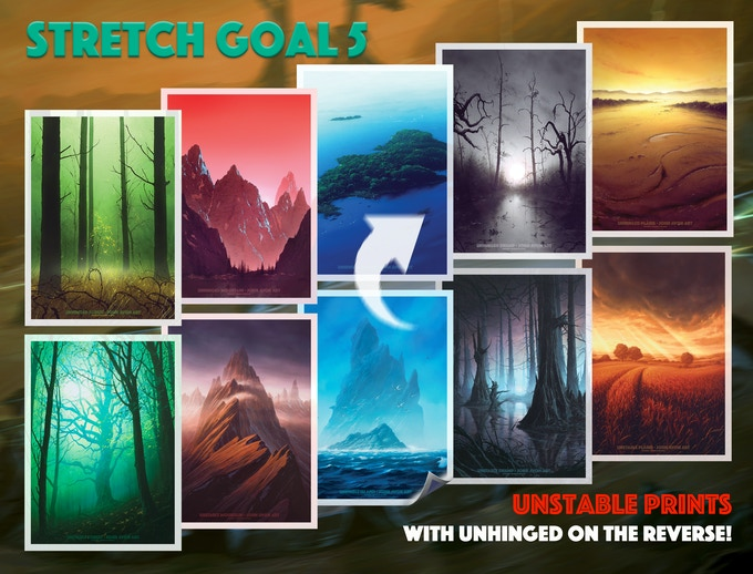 Reversible, luxury prints for all backers now!