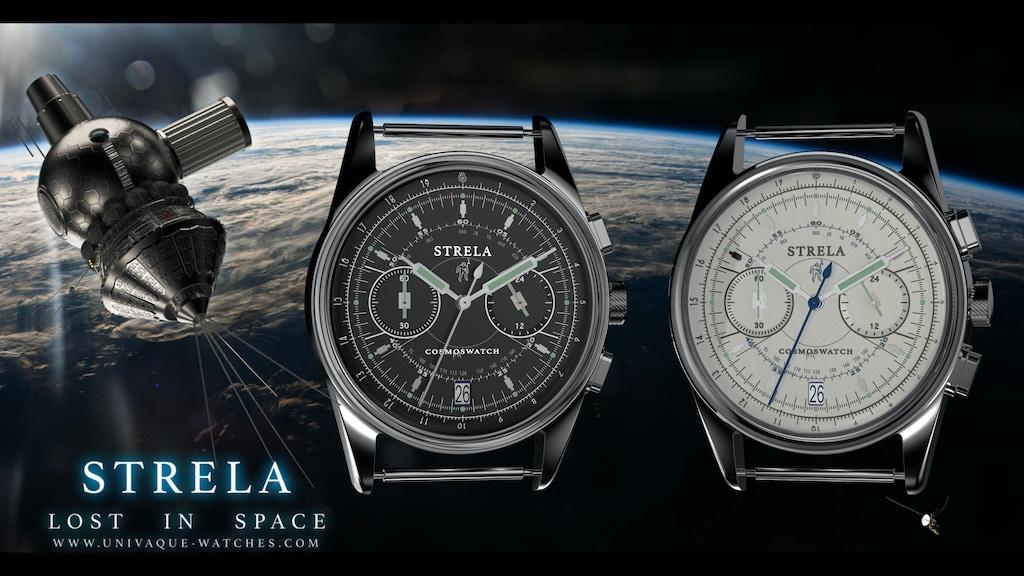 STRELA WATCH - LOST IN SPACE, custom '60 Style wristwatch project video thumbnail