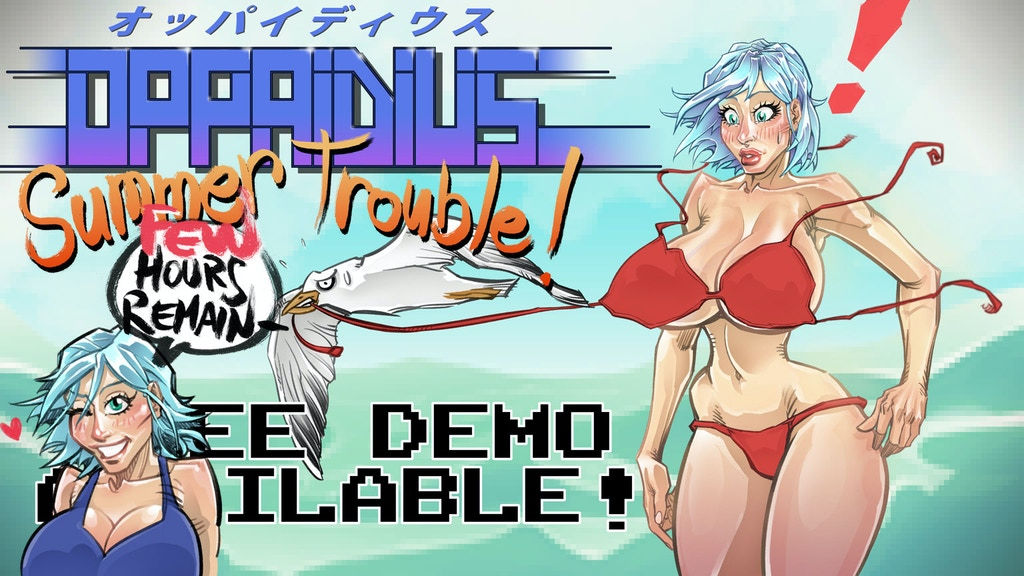 Oppaidius Summer Trouble! project video thumbnail