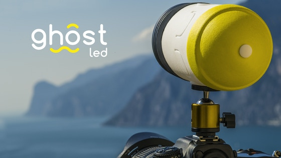 ghostLED | The all-in-one LED light for photo and video