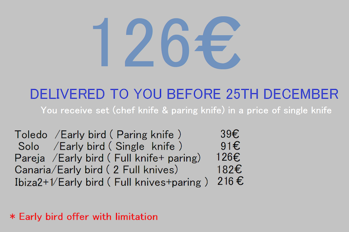 Early bird special offer