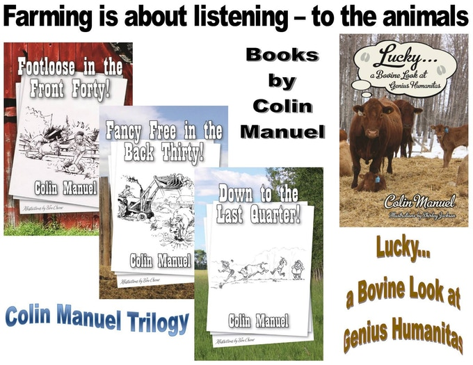 Books by Colin Manuel (Fiction, Humorous Short Stories)