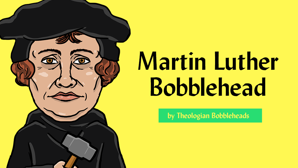 Martin Luther Bobblehead By Parker Hathaway Kickstarter