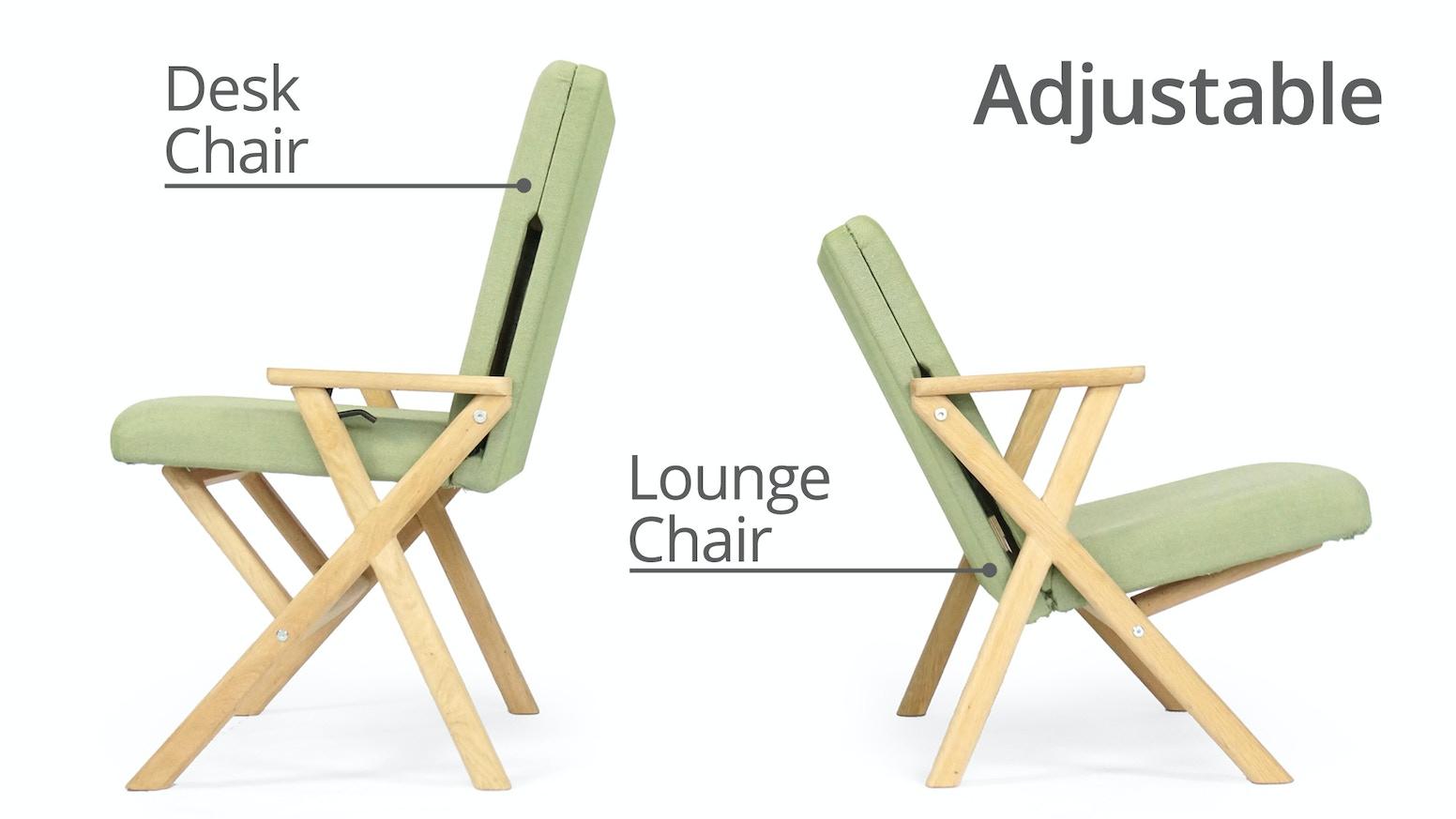 Hybrid Chair Lounger That Transforms