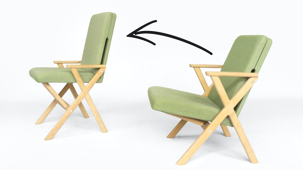Hybrid Chair: Lounger That Transforms Quickly In Desk Chair