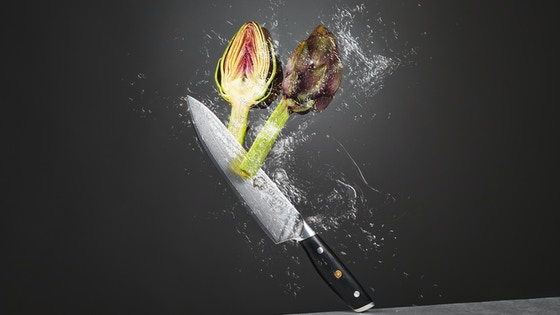 Orient Kitchen Knives - The Damascus Series - No Compromises