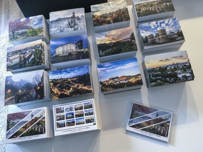 1st edition of the Luxembourg Postcards