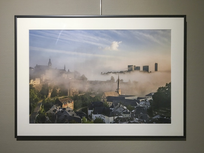 A3-sized limited edition art print from the Luxembourg - Colours and Seasons collection