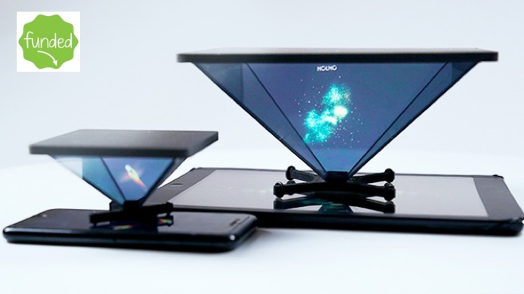 HOLHO transforms YOUR devices into HOLOGRAM PROJECTORS project video thumbnail