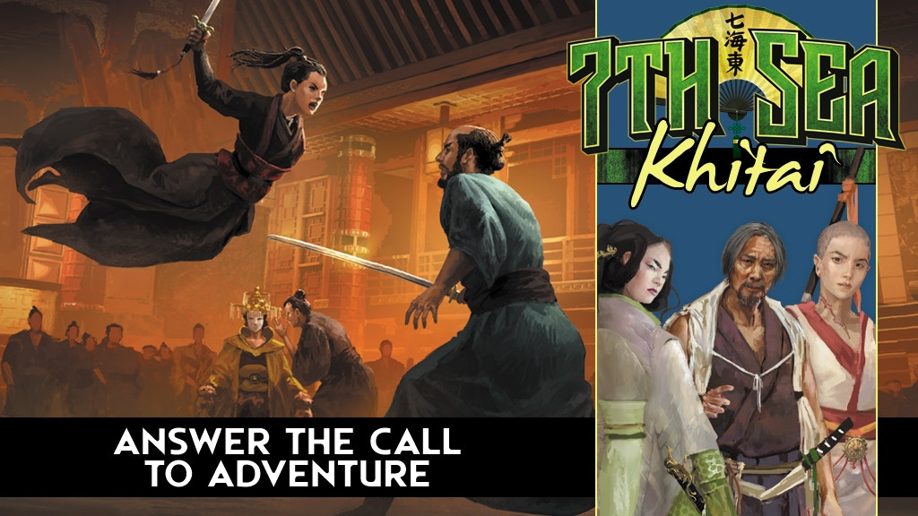 7th Sea: Khitai project video thumbnail