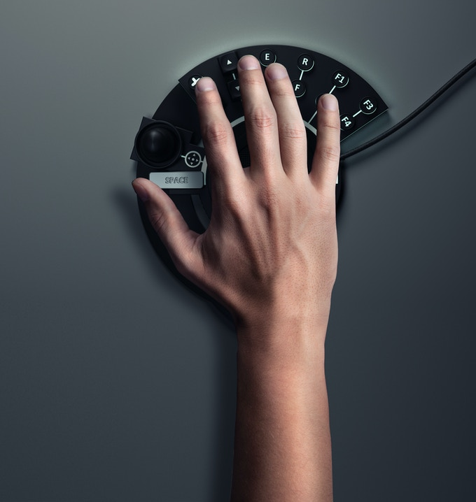 left-handed version of our keypad!