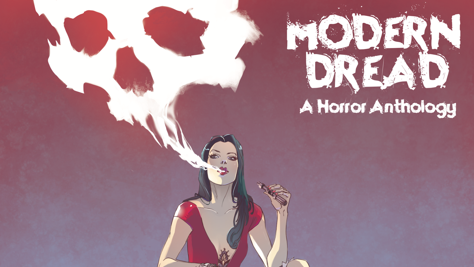 NOW ON AMAZON! MODERN DREAD explores what terrifies us NOW. From infected tattoos to young motherhood, from growing old to internet trolls & beyond...