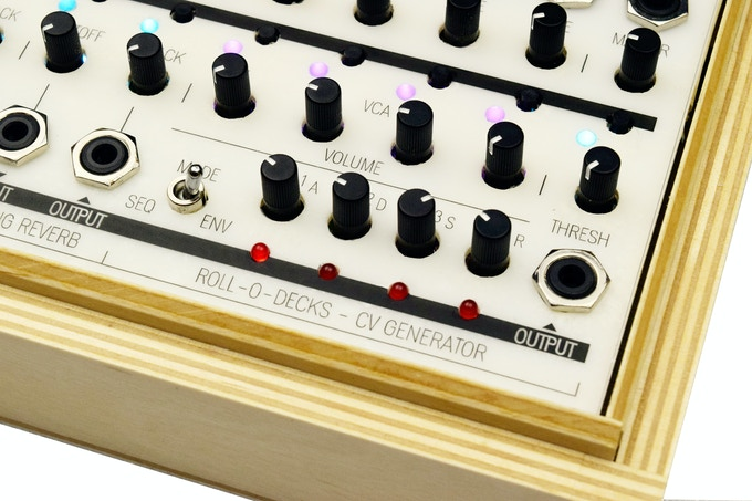 The Roll-O-Decks Mini Sequencer and Envelope Generator.