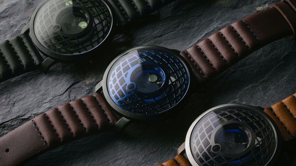 The Xeric Trappist-1 Moonphase Watch: Bending Time & Space