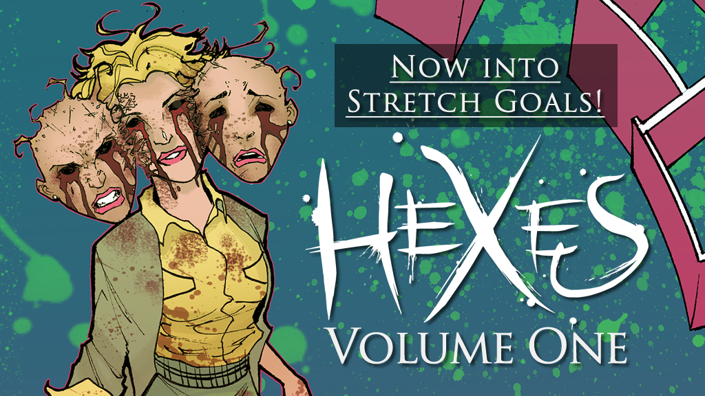 Hexes Volume One - A Supernatural Horror Graphic Novel project video thumbnail