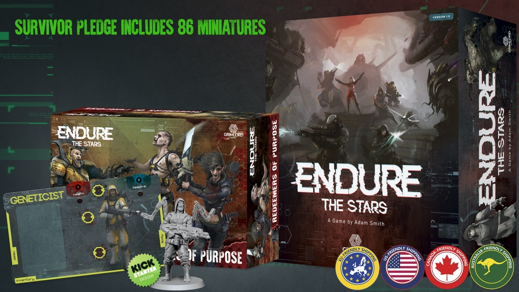 Endure the Stars 1.5 project video thumbnail