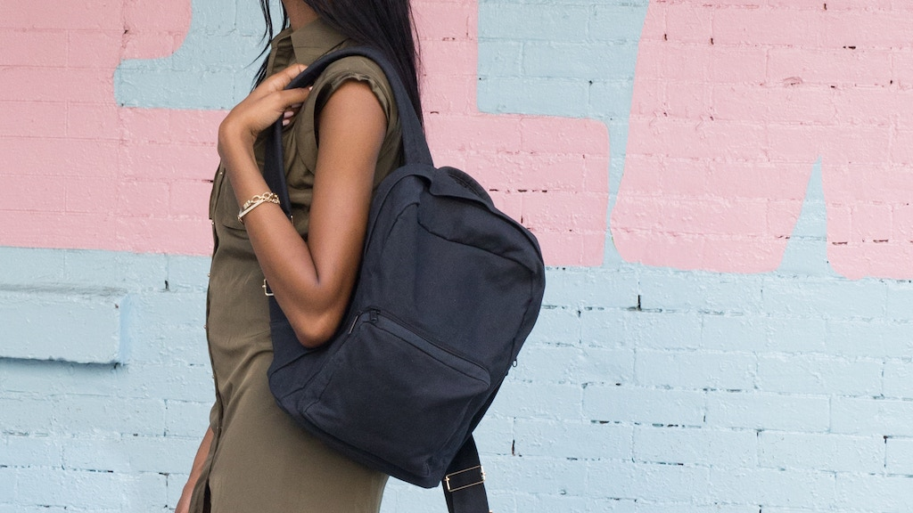 Minimalist backpacks designed for revolutionary women. project video thumbnail