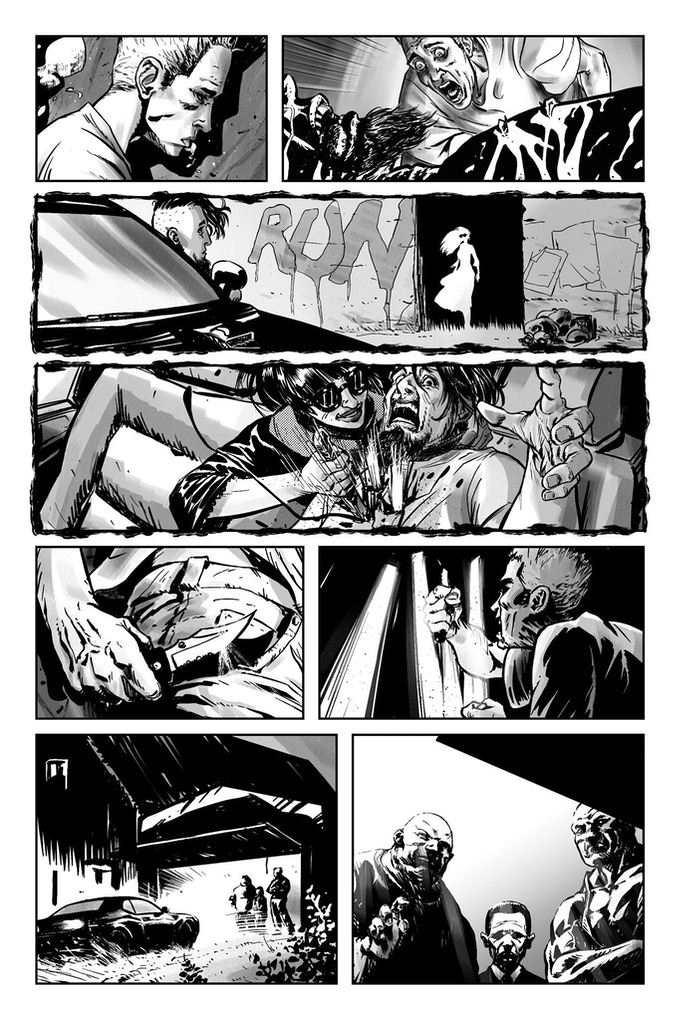A page from CAUGHT ON THE WEB by Fabio Ramacci & Ryan Lynch