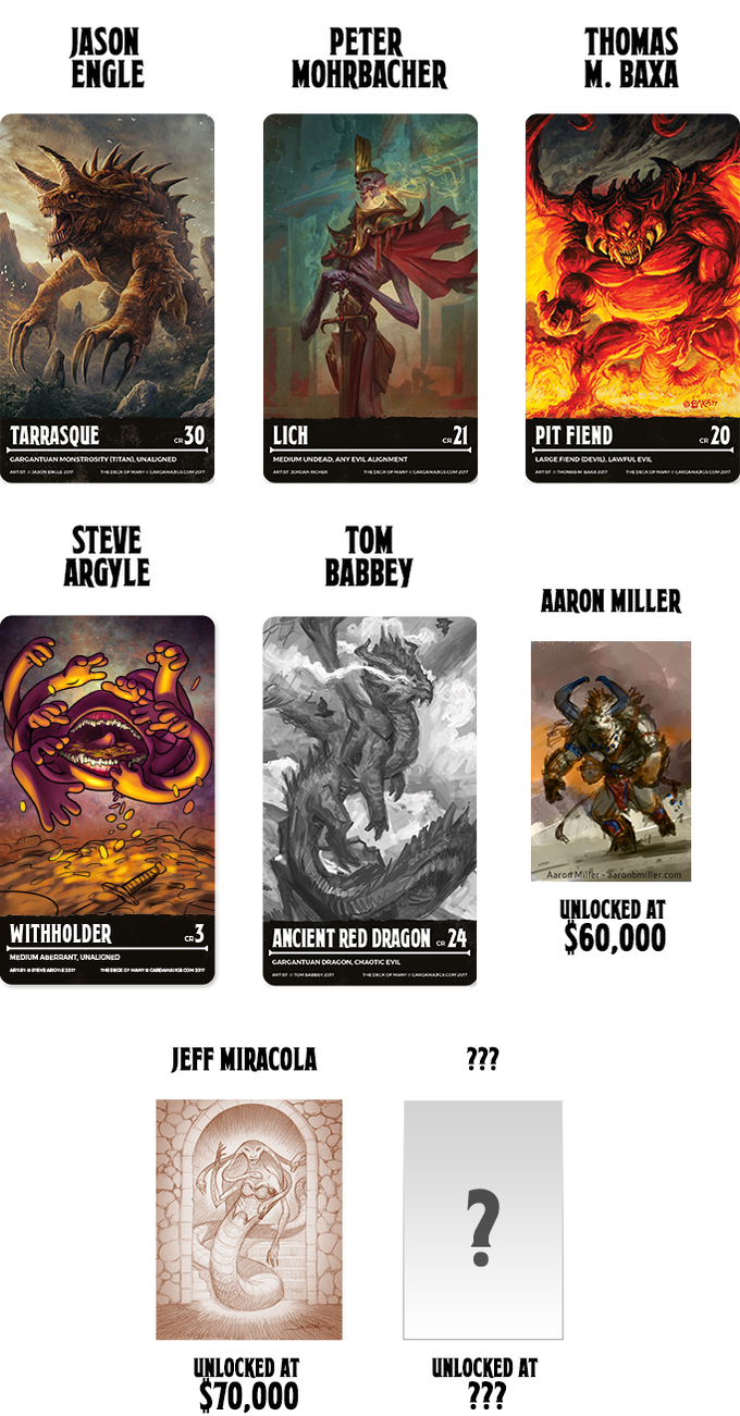 The Deck Of Many: DnD 5e Reference Cards by Hit Point Press