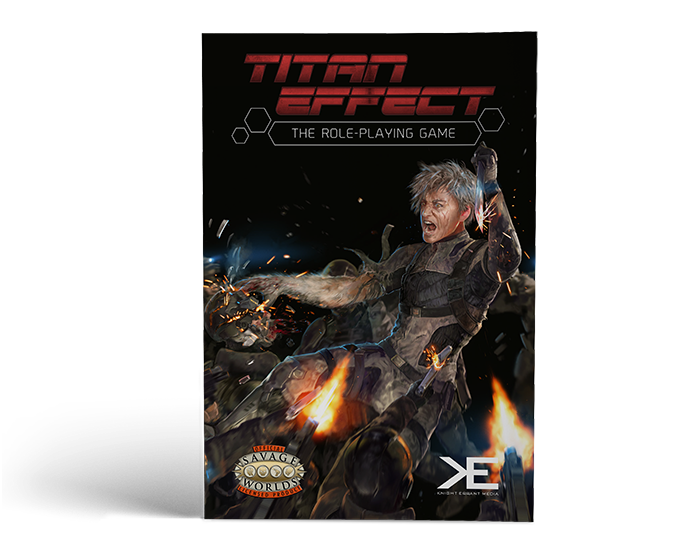 Titan effect rpg for savage worlds by christian nommay for Bureau 13 savage worlds