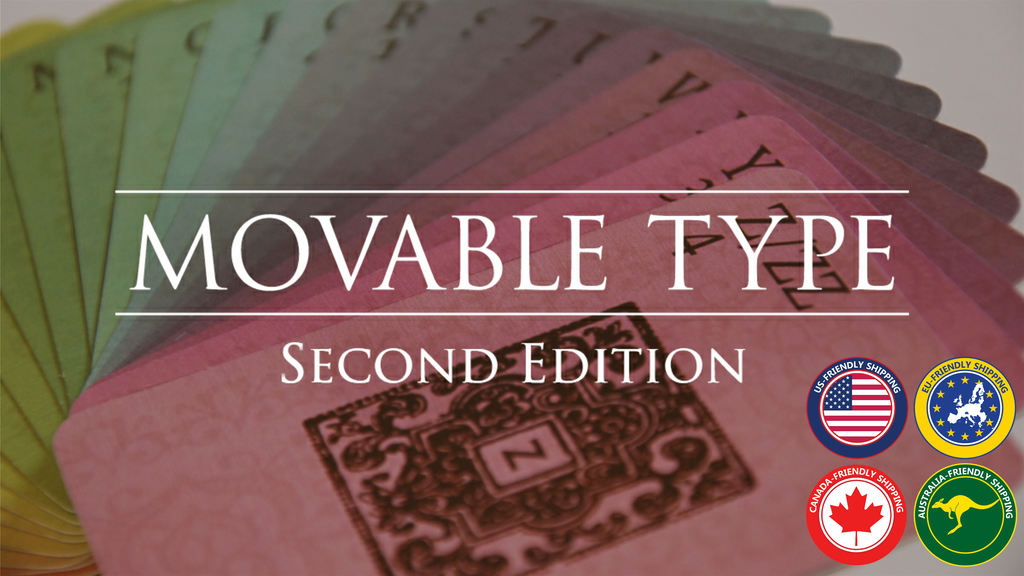 Movable Type: Second Edition project video thumbnail