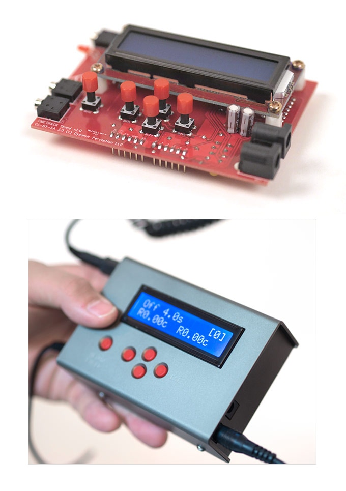 Timetrack controller has the flexibility when it comes to maintenance because of the open-source based circuit system, and enclosure made from high strength aluminum.