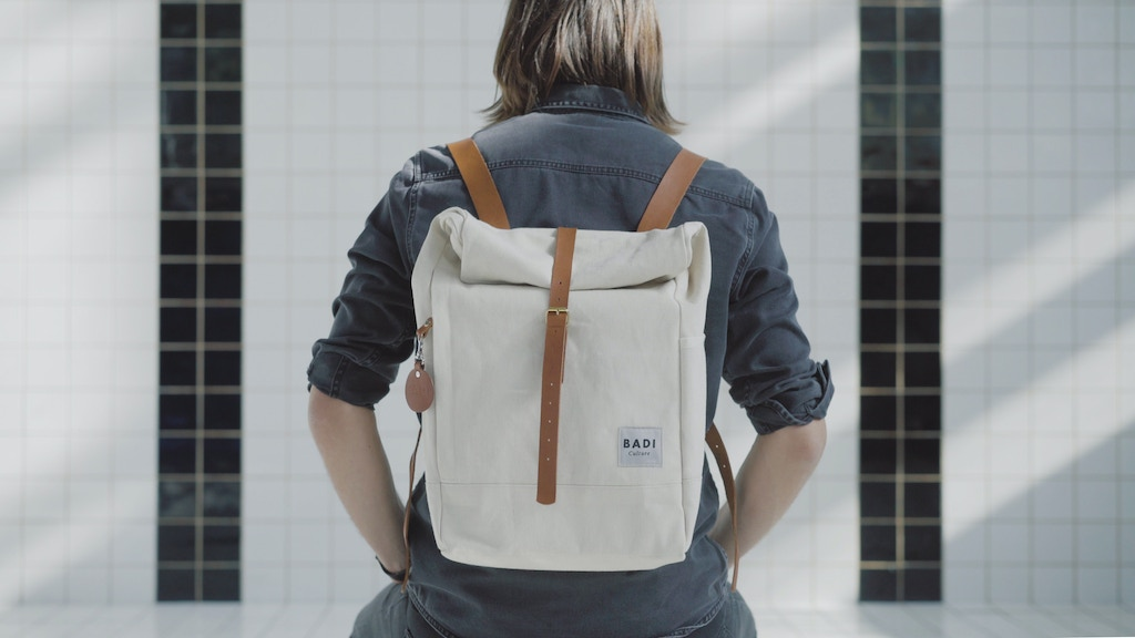 BADI Culture's Roll-Over Backpack - simple & natural project video thumbnail