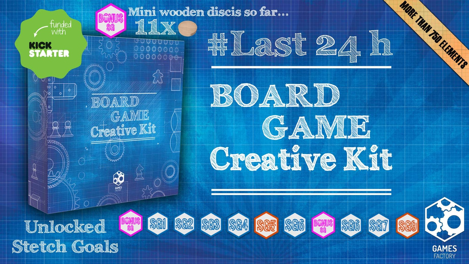 You love games and you always wanted to create one of your own? Board Game Creative Kit is what you need!