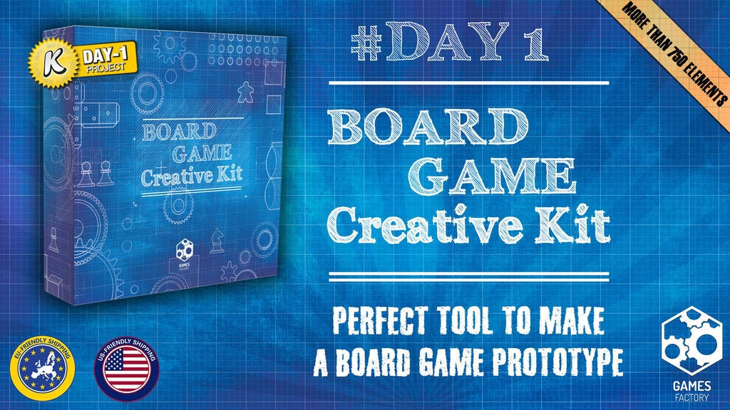 Board Game Creative Kit project video thumbnail