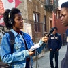 A student reporter for Brooklyn Deep, a Kickstarter-funded investigative journalism platform