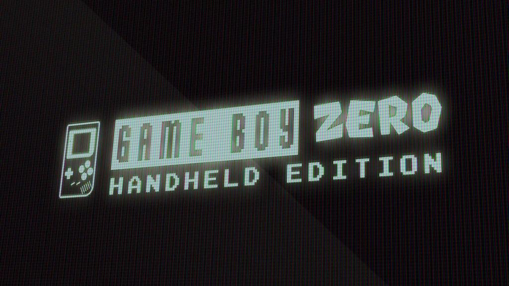 Game Boy Zero - Handheld Edition project video thumbnail