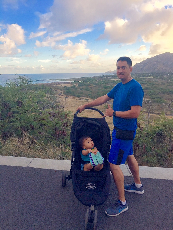 Aloha From a Dad Making Life Cool For His Daughter