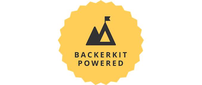 This project is powered by Backerkit