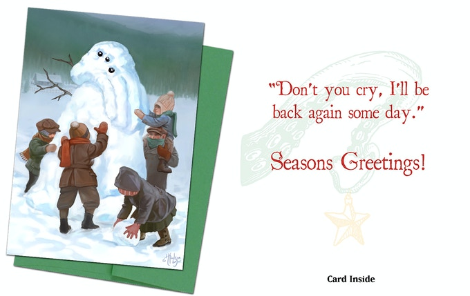 Cthulhu Card 1 - The Snows are Right