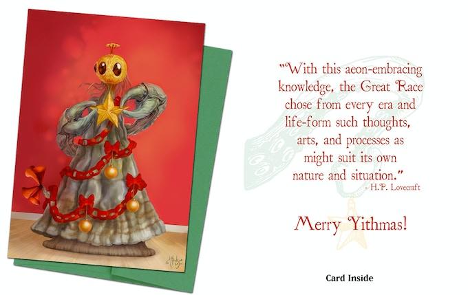 Cthulhu Card 3 - The Yithmas Tree