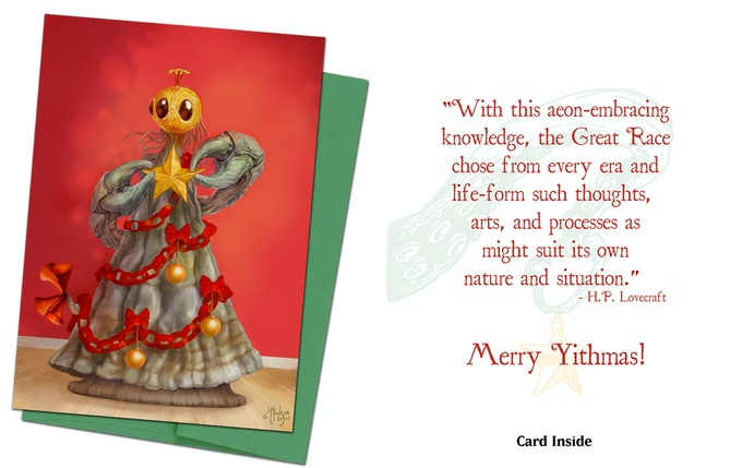 Cthulhu Card 3 - The Yithmas Tree