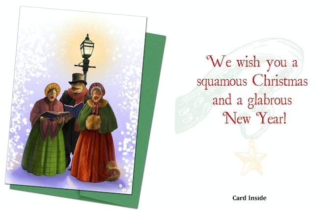 Cthulhu Card 5 - The Innsmouth Carollers