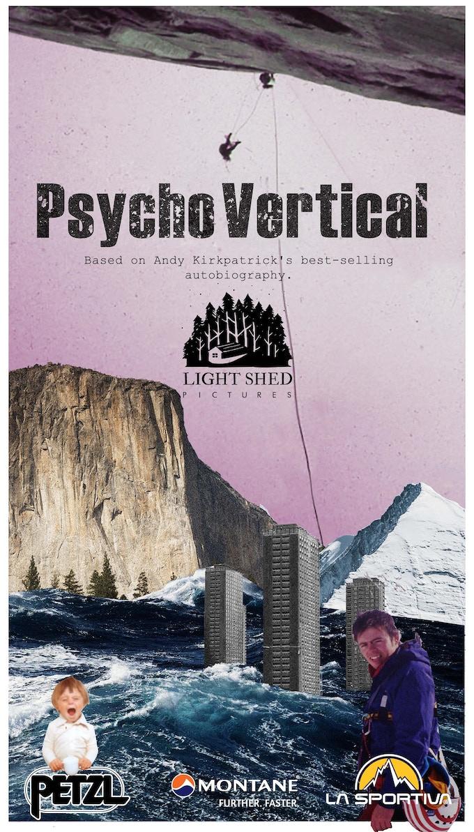 Poster for Psycho Vertical film, 2017