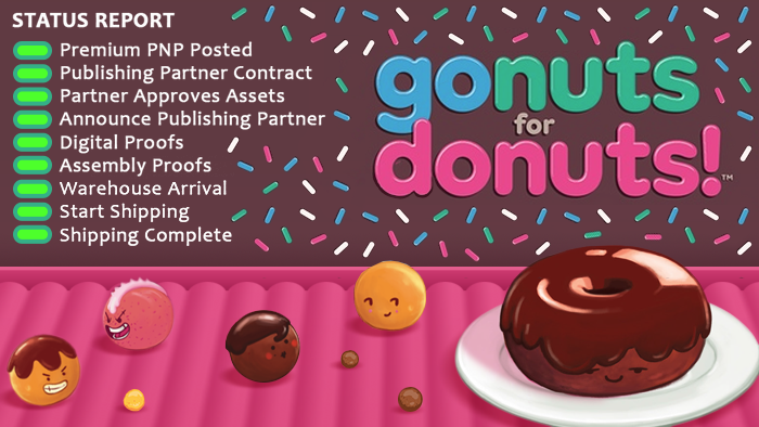 Secretly pick the donut you want, but if someone else picks the same donut then no one gets it! Fast fun for everyone!