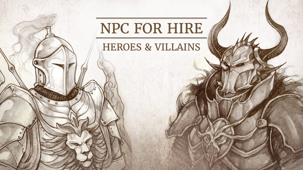 NPC For Hire: Heroes & Villains project video thumbnail