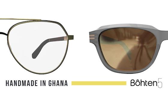 Bôhten5 Eyewear - Handmade in Ghana