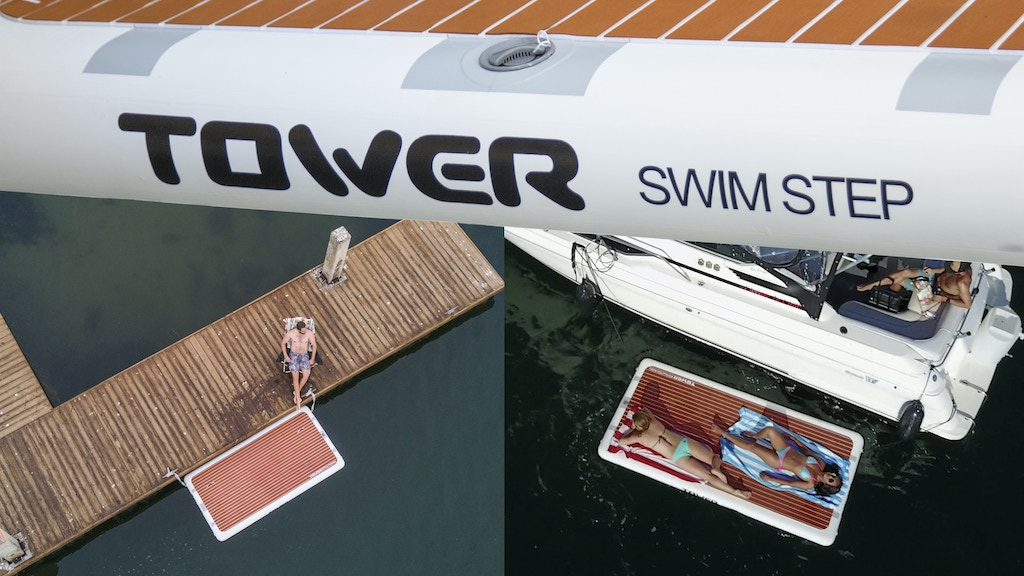 The Swim Step: An Overdue Upgrade From Dock Ladders project video thumbnail