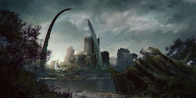 St. Louis in Ruins...