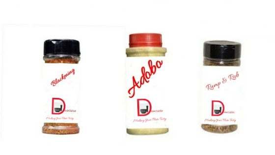 Delectable Seasoning: Adobo, Blackening, and Rump & Rub