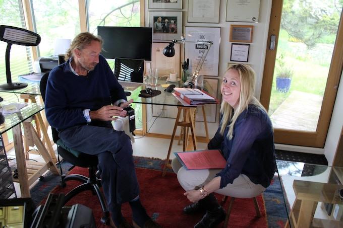 Interviewing Rick Dickinson, designer of the ZX Spectrum.