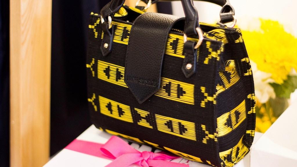 Hand Woven African Fabric meets Modern Handbag Design project video thumbnail