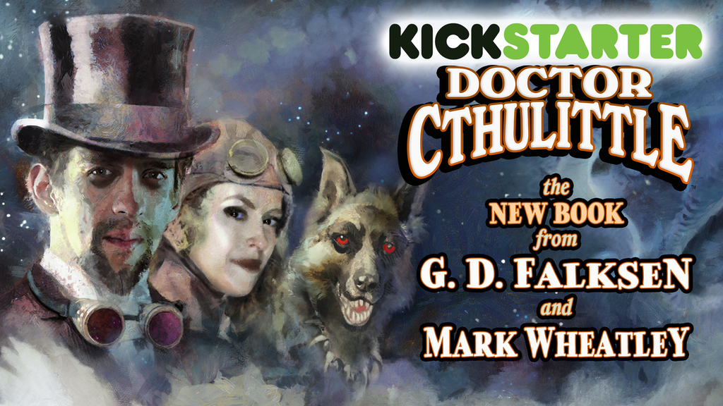 DOCTOR CTHULITTLE Illustrated Lovecraftian Adventure project video thumbnail