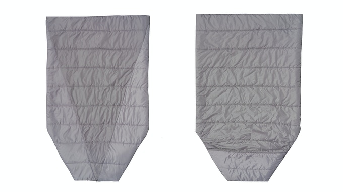 The Adventure Top Quilt is insulates your top and sides, while you're inside the hammock. Click the photo for product details