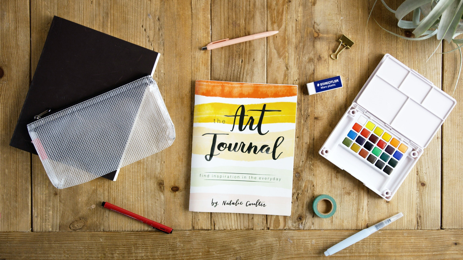 the art journal kit by mint maple kickstarter. Black Bedroom Furniture Sets. Home Design Ideas
