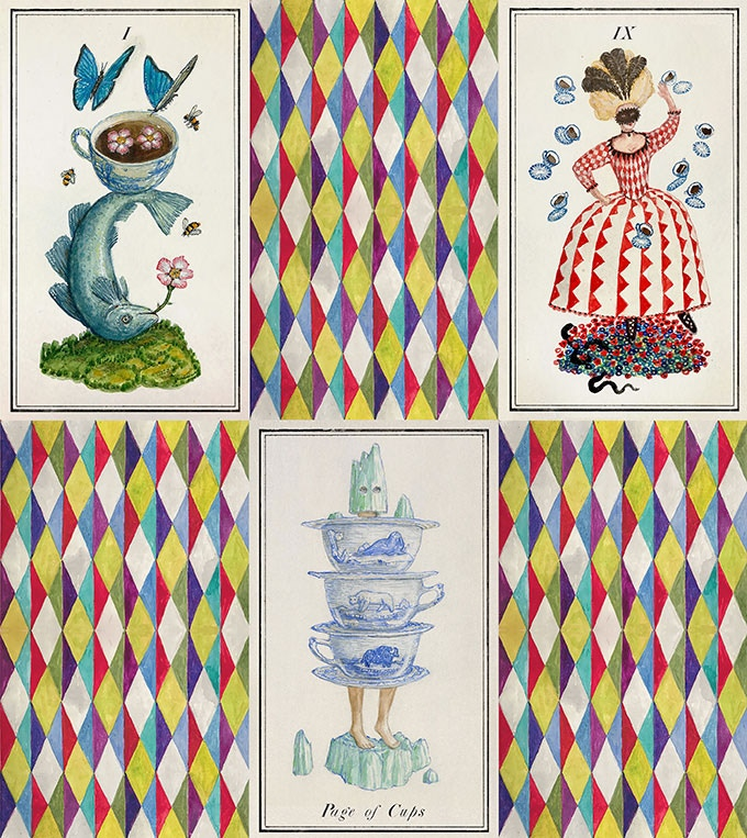 Examples from the suit of Cups